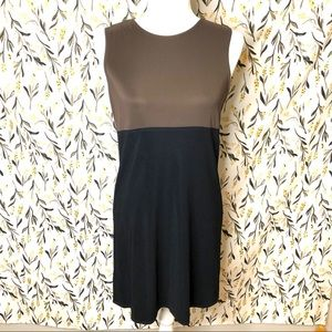 NWT! Vintage express tricot dress size 3/4 black